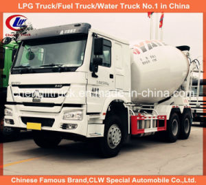 12 Wheel Sinotruk HOWO Heavy Duty Concrete Cement Mixer Truck pictures & photos