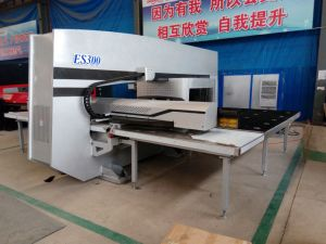 ES300 Mechanical CNC Turret Punching Machine/CNC Turret Punch Press pictures & photos