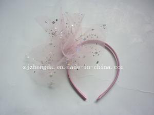Fashion Hair Band with Silk Flower