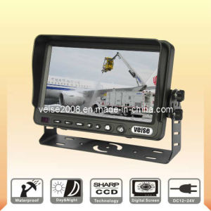 7inch Digital TFT LCD Monitor with Three Video Input (SP-728) pictures & photos