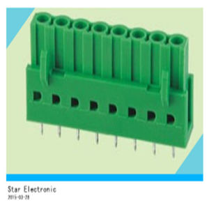 8 Pin PCB Plug in Green Terminal Block pictures & photos