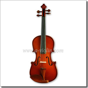 4/4, 3/4 Carved Solid Spruce Top Student Violin (VG104) pictures & photos