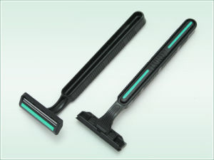 Twin Blade Disposable Razor (KD-2016L) pictures & photos