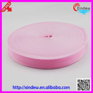 Luggage Ribbon Eco-Friendly Pink Woven Bag PP Webbing (XDGL-004) pictures & photos