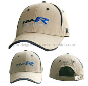 Cotton Golf Cap with Adjustable Buckle pictures & photos