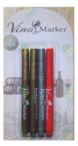 Wine Glass Marker Pen with Non Toxic and Eraseable pictures & photos