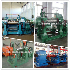 Qingdao Eenor Rubber Two Roll Mixing Machine / Open Mixing Mill with CE pictures & photos