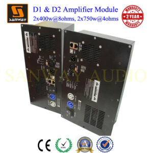 D2l & D2s 900W+900W@4ohms 2 Channel Class D Digital DSP Plate Amplifier for Passive Speaker pictures & photos