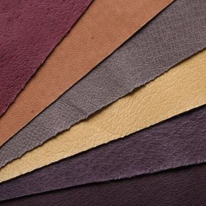Pigskin PU Synthetic Leathers pictures & photos