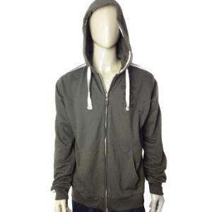 Custom Men′s Print Hoodies Fleece Jacket pictures & photos
