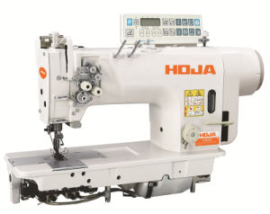 High Speed Double Needle Lockstitch Sewing Machine Hj8422