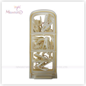 43*8cm Foldable Plastic Clothed Hanger pictures & photos