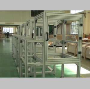 Aluminum Extrusion Profile Display Cabinet for Equipment pictures & photos