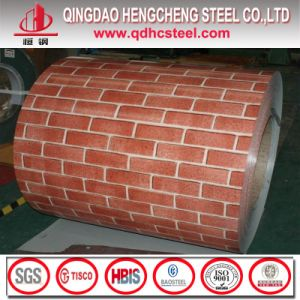 PPGI Brick Wood Pattern Color Coated Steel Coil pictures & photos