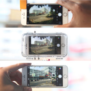 Extreme Sports Wide Angle 170 Degree Waterproof Cell/Mobile Phone Case for iPhone 6/6s pictures & photos