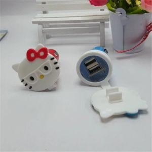 Dual USB Cartoon Car Charger pictures & photos