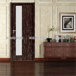 New Green Material WPC PVC Wrapping Entry Door (KMB-12) pictures & photos