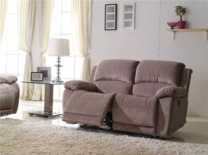 Modern Recliner Fabric Sofa (897#) pictures & photos