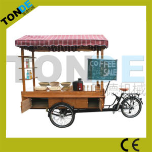 Tricycle Two Front Wheels Food Bike Mobile Coffee Bike pictures & photos
