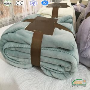Thick Coral Fleece Winter Blanket for Russian Market pictures & photos