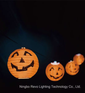 Solar Pumpkin Outdoor Lantern for Halloween Festival Decoration (RS1012A) pictures & photos