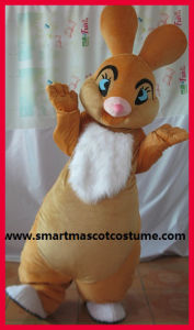 Custom Made Mascot, Easter Bunny Mascot Costume