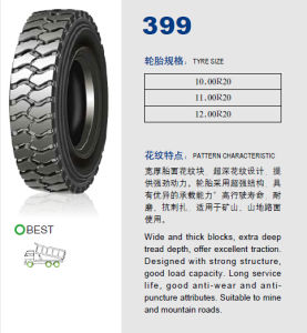 Annaite Brand New Radial Truck Tyre (396 10.00R20 11.00R20 12.00R20) pictures & photos