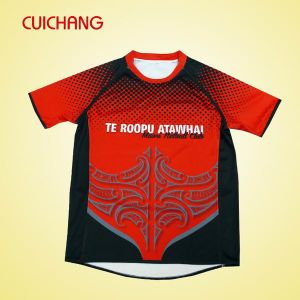 Sublimation Rugby Jersey, Custom Rugby Jersey (R-02) pictures & photos