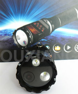 Zp612 1.5 Inch Ambarella Multi-Function Police Flashlight DVR Recorder Portable Camera pictures & photos
