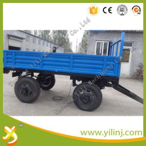 High Quality Tipping Trailer for Tractor for Sale pictures & photos