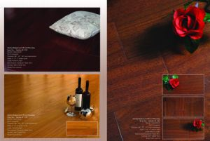 Jatoba Engineered Wood Flooring 12mm 1.2mm Wear Layer pictures & photos