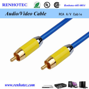 Favorites Compare Double Shield RCA Cable for Car Audio AMP Install pictures & photos