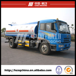 4X2 Faw 12000L Carbon Steel Fuel Tank Truck (HZZ5162GJY) with High Performance pictures & photos