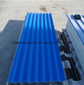Colour Coated MGO Corrugated Roof Tile with Anti Oxidation Film pictures & photos