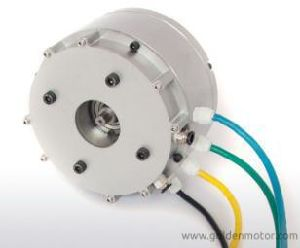 BLDC Motor 3kw 48V/60V/72V Air Cooling DC Motor with Sine Wave Controller pictures & photos