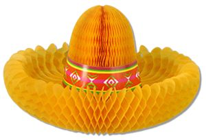 Paper Honrycomb Decoration, Paper Hat (YM-21033)