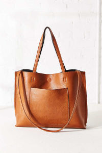 Fashionable Reversible Vegan Leather Women Tote Bag pictures & photos