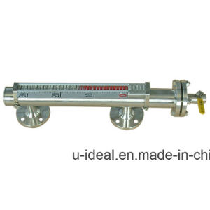 Side Mounted Boiler Water Fuel Level Gauges-Magnetic Float Level Gauge with 4-20mA pictures & photos