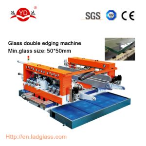 Flat Double Glass Edging Machine Line pictures & photos