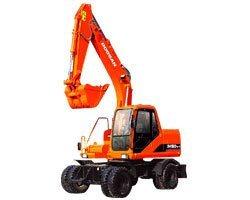 Doosan Wheel Manual Excavator for Hot Sale pictures & photos