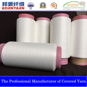 Spandex Covered Yarn with Polyester by Qingdao Bangyuan Group pictures & photos