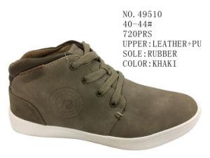 No. 49510 Men Size Stock Casual Shoes pictures & photos