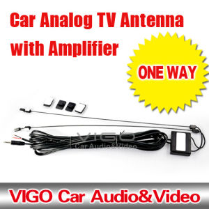 One Way Car Analog TV Antenna With Amplifier (VTN351)