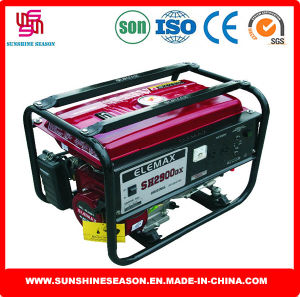 Elemax Sh2900dx Gasoline Generator 2kw Manual Start for Power Supply pictures & photos