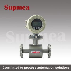 Small Pipe Electromagnetic Flowmeter Sewage Flowmeter Controller Stainless Steel 316 Electromagnetic Flowmeter