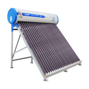 Solar Energy Thermosiphon System Evacuated Tubes Water Heater 300 L pictures & photos