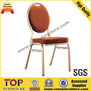 Hotel Round Back Stackable Metal Banquet Chair pictures & photos