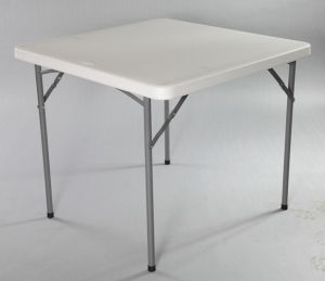 White Solid Plastic Square Table (SY-87F) pictures & photos