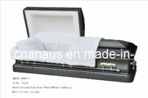 American Style 18 Ga Steel Casket  (1859117) pictures & photos