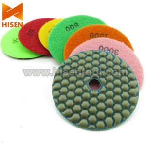 "4"" 100mm Diamond Dry Flexible Polishing Pads pictures & photos"